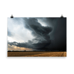 Load image into Gallery viewer, Amazing supercell structure in northern Italy