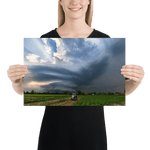 Load image into Gallery viewer, Beautiful stationary supercell storm