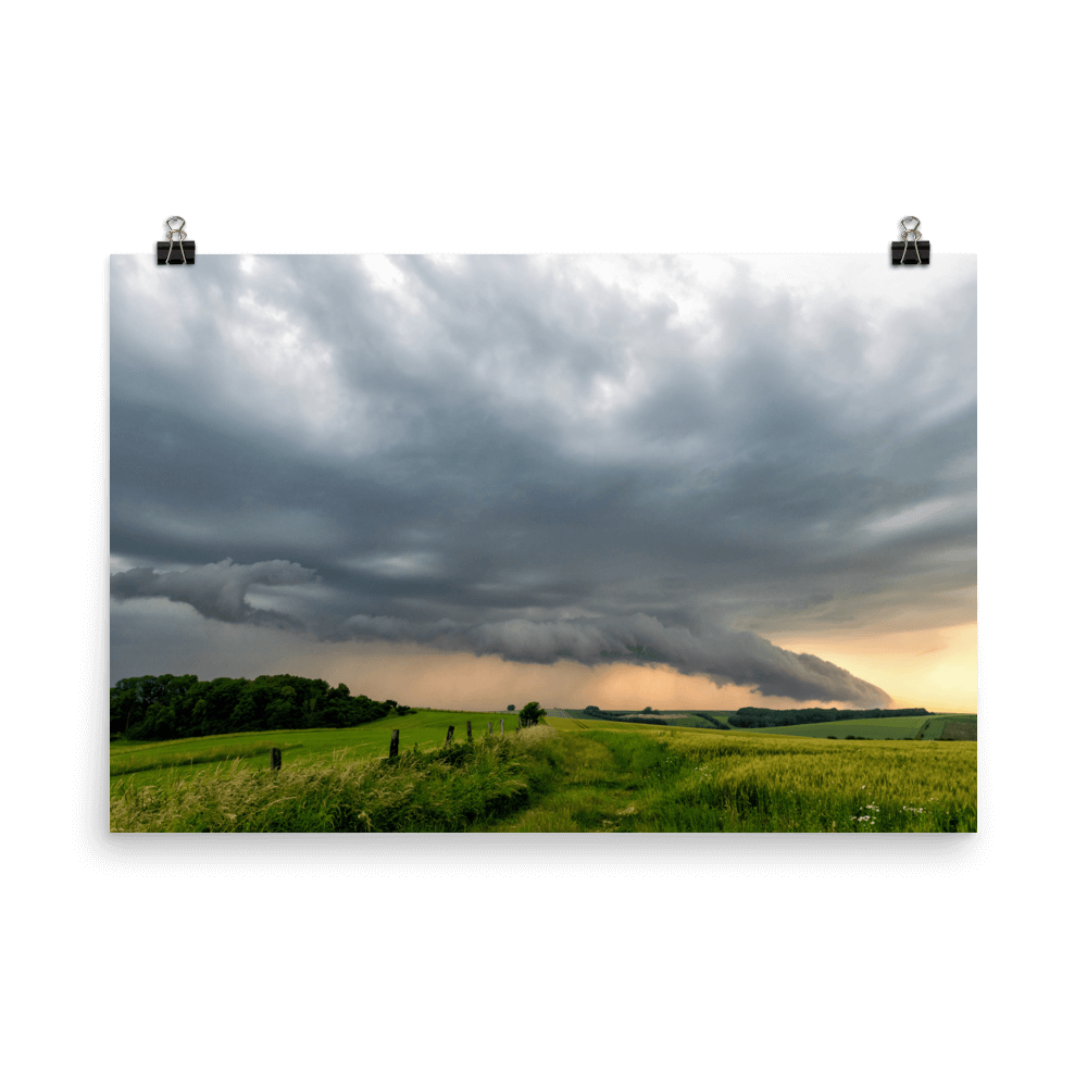 Beautiful supercell near Přerov