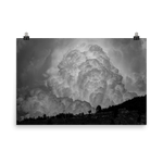 Load image into Gallery viewer, Black and white cloud explosion