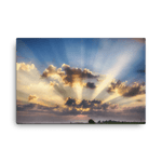 Load image into Gallery viewer, Crepuscular rays at sunrise by Šimon Rogl
