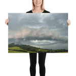 Load image into Gallery viewer, A distinctive shelf cloud over Loučka by Andrea Dadáková