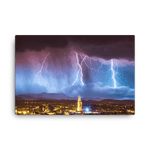 Load image into Gallery viewer, Gorgeous lightning barrage over Zagreb