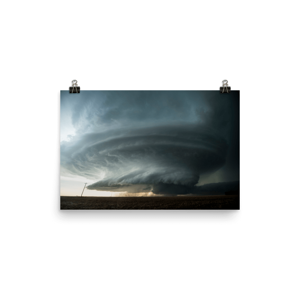 Incredible supercell in Kansas