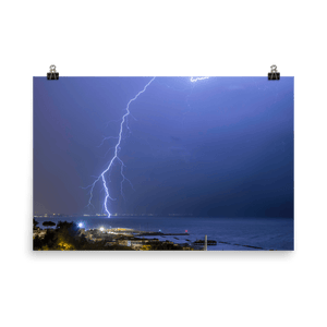 Lightning in Gabicce Mare