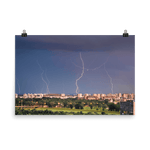 Load image into Gallery viewer, Lightning over New Zagreb