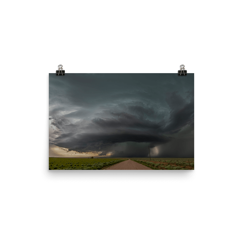 Lonely supercell in Colorado