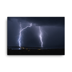 Load image into Gallery viewer, Massive lightning strike over the Adriatic by Gregor Vojščak