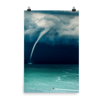 Load image into Gallery viewer, Massive waterspout in Fiorenzuola di Focara