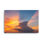 Load image into Gallery viewer, Mesmerizing sunset storm shadow by Matija Šimunić