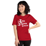Load image into Gallery viewer, Zena Storm Chaser Red Unisex T-Shirt