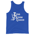 Load image into Gallery viewer, Zena Storm Chaser True Royal Blue Unisex Tank Top