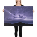 Load image into Gallery viewer, Monster shelf cloud with anvil crawlers lightning by Šimon Rogl
