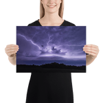 Load image into Gallery viewer, Monster shelf cloud with anvil crawlers lightning