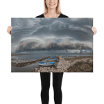 Load image into Gallery viewer, Morning shelf cloud over the Island of Pag