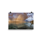 Load image into Gallery viewer, Nice rainbow over the town of Pag