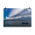Load image into Gallery viewer, Summer storm over Starigrad Harbour