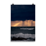 Load image into Gallery viewer, Rain showers at sunset