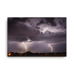 Load image into Gallery viewer, Massive lightning bolts over Hořice by Filip Petržílek
