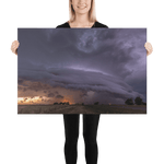 Load image into Gallery viewer, Severe warned supercell by Bruno Gonçalves