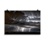 Load image into Gallery viewer, Significant lightning activity in Wallachia