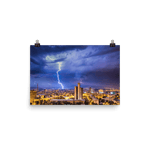 Load image into Gallery viewer, Spectacular lightning over Zagreb