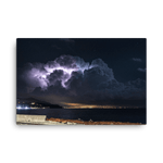 Load image into Gallery viewer, Suggestive thunderstorm spectacle over Ligurian Sea  by William Demasi #2 of 4