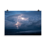 Load image into Gallery viewer, Stunning cold air-mass thunderstorm