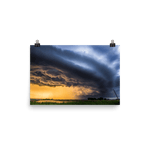 Load image into Gallery viewer, Stunning stormy sunset