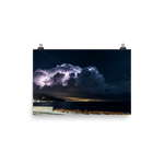 Load image into Gallery viewer, Suggestive thunderstorm spectacle over Ligurian Sea