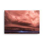 Load image into Gallery viewer, Sunset shelf cloud at Lake Red Rock