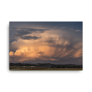 Sunset supercell near Postojna in Slovenia by Maja Kraljik