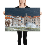 Load image into Gallery viewer, The Jugo wind batters Kaštel Novi