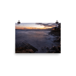 Load image into Gallery viewer, Windy sunset at the Adriatic coast