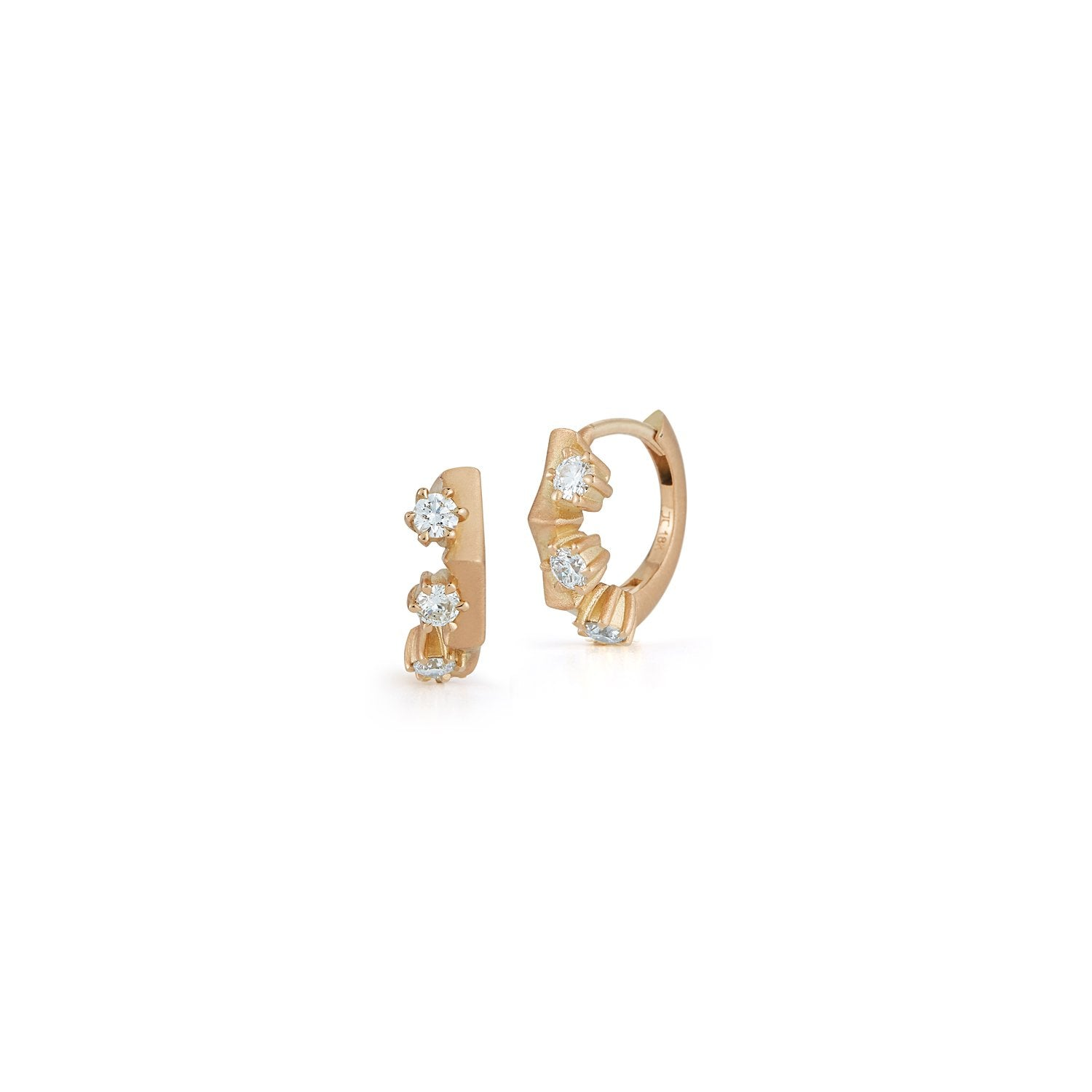 Clara Mini Huggie Earrings
