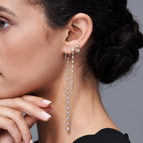 Sophisticate Small Hoops Drops