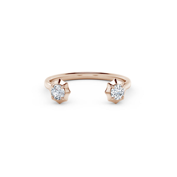 Sophisticate Open Stackable Ring