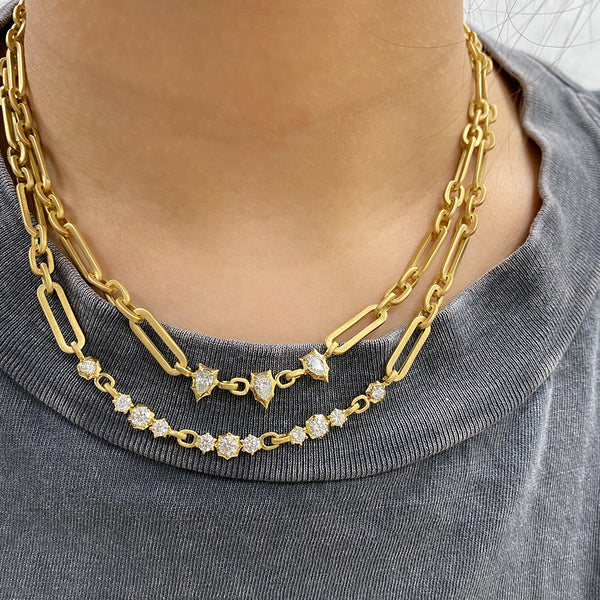Paige Diamond Chain Necklace