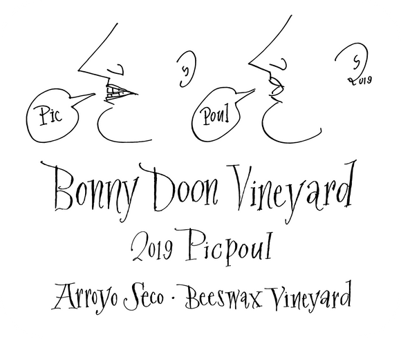 WINE FEATURE: Bonny Doon Vineyard Picpoul 2019 - $18 (92pts Wilfred Wong)