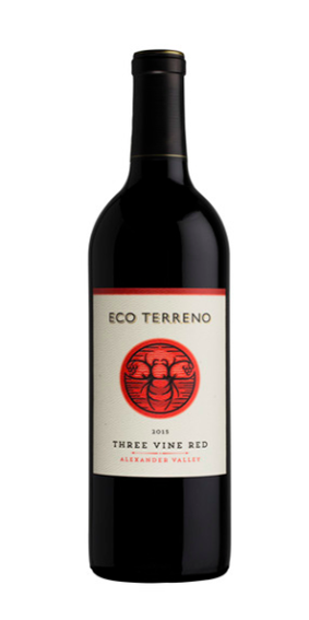 Eco Terreno Three Vine Red Blend 2014