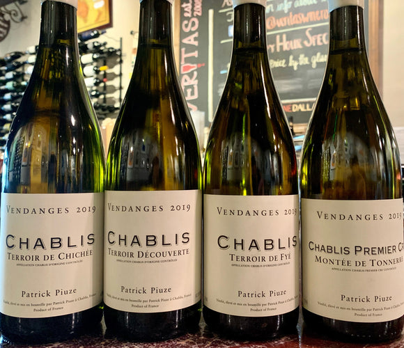 Patrick Piuze Chablis Wine Package '19