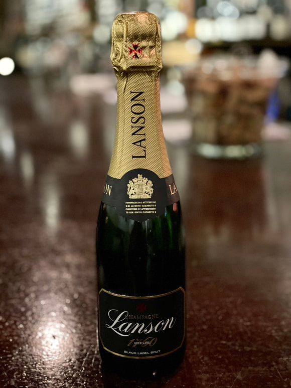 Lanson Black Label NV Brut Champagne 375mL (Half bottle)