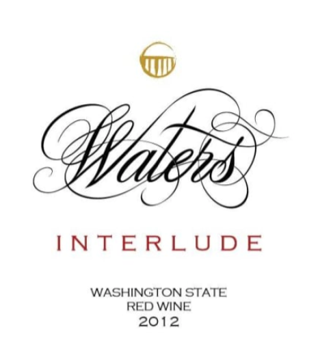 Waters Interlude Red Blend 2016