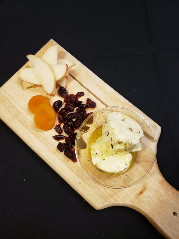 Laurel Chenel Thyme & Rosemary Marinated Goat Cheese