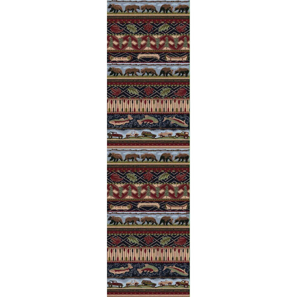 American Wildlife - Multi-CabinRugs Southwestern Rugs Wildlife Rugs Lodge Rugs Aztec RugsSouthwest Rugs