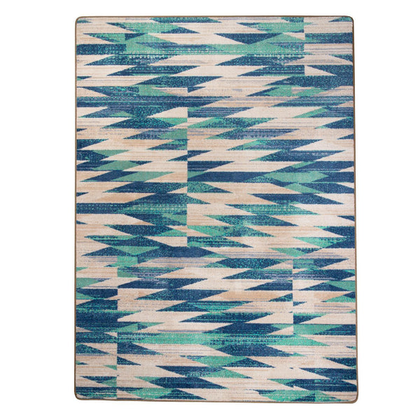 Ancestor Dance OKA - Earth-CabinRugs Southwestern Rugs Wildlife Rugs Lodge Rugs Aztec RugsSouthwest Rugs