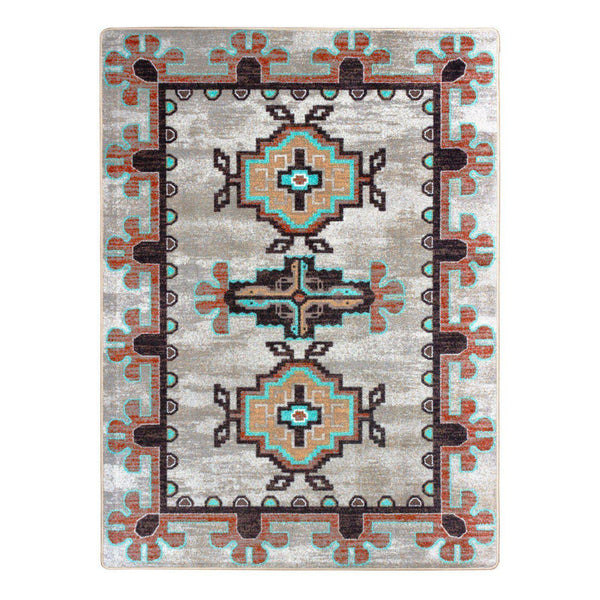 Death Valley - Sierra-CabinRugs Southwestern Rugs Wildlife Rugs Lodge Rugs Aztec RugsSouthwest Rugs