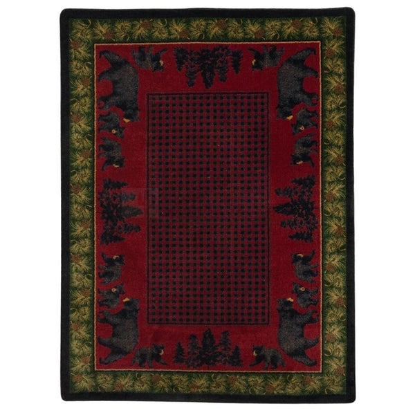 Familia Ursa - Multi-CabinRugs Southwestern Rugs Wildlife Rugs Lodge Rugs Aztec RugsSouthwest Rugs