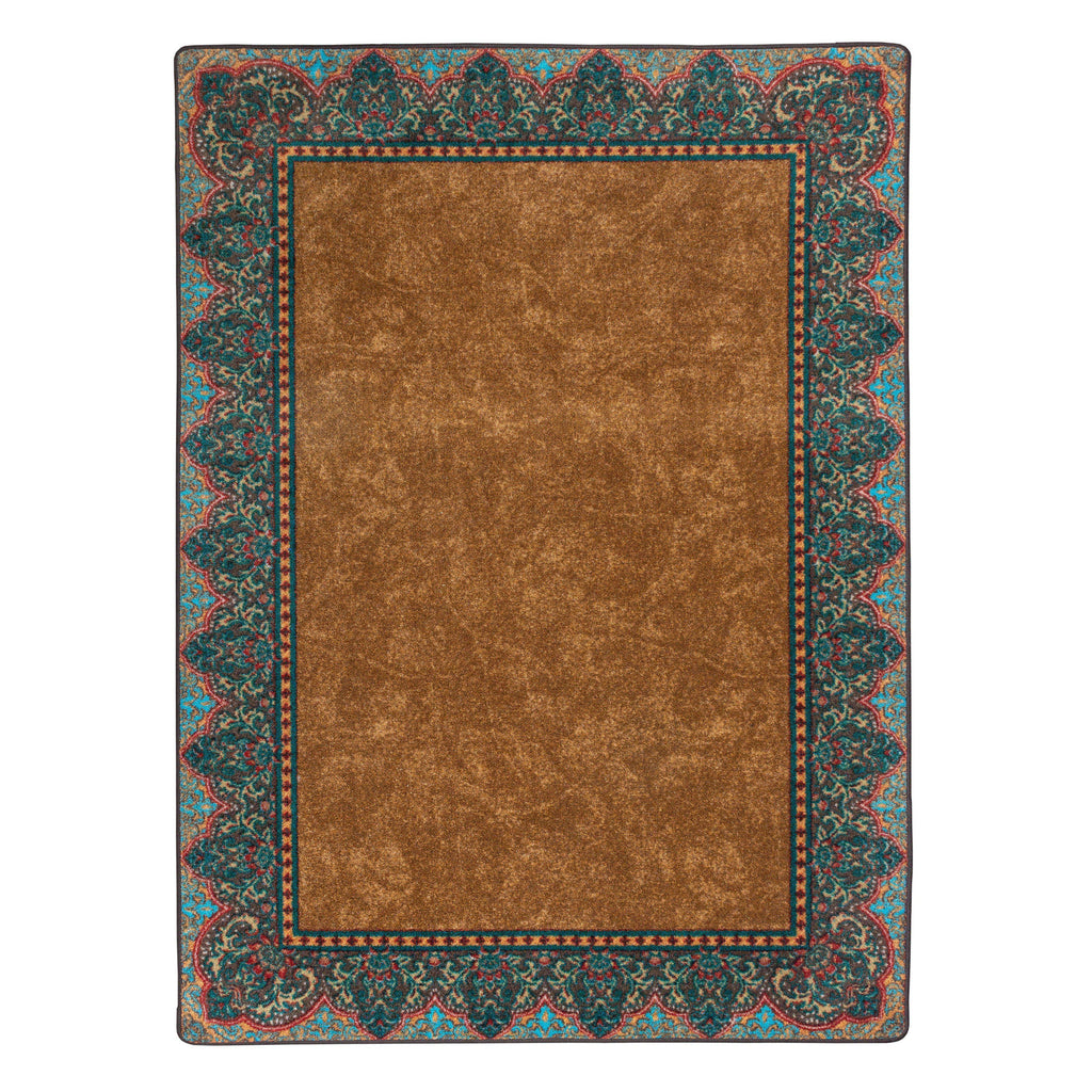 Fine Sand - Cognac-CabinRugs Southwestern Rugs Wildlife Rugs Lodge Rugs Aztec RugsSouthwest Rugs