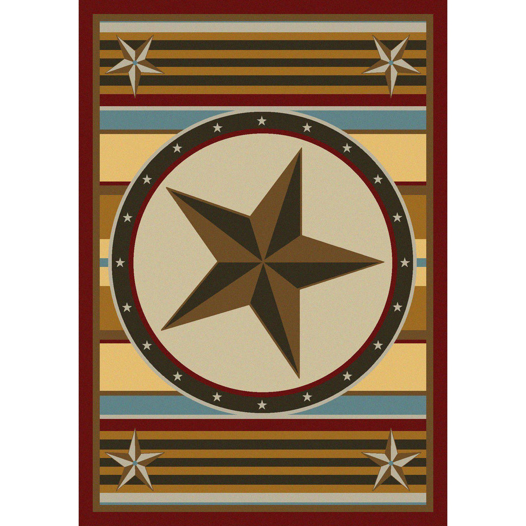 Hacienda Estrella - Maize-CabinRugs Southwestern Rugs Wildlife Rugs Lodge Rugs Aztec RugsSouthwest Rugs